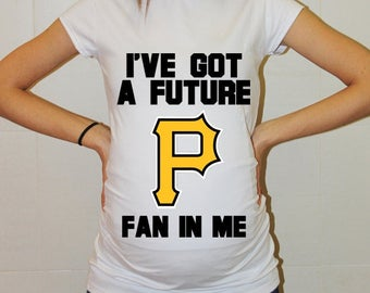 Pittsburgh Pirates Baby Pittsburgh Pirates Shirt Women Maternity Shirt Funny Baseball Pregnancy Pregnancy Shirts Pregnancy Clothing