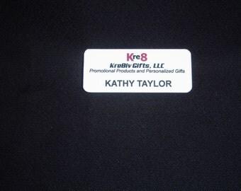 NAME BADGE, name tag, nametag, custom name badge, custom name tag, full color name badge, promotional products, lapel pins, promo products