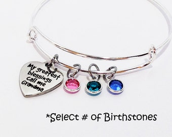 Mothers Day Gift for Grandma, Gifts for Grandma, Mothers Day Gift Grandma, Grandma Gift, Gifts for Grandma, Grandma Bracelet, Mothers Day