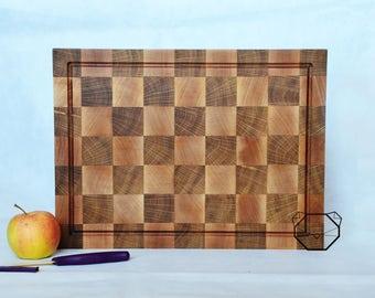 Maple endgrain cutting board, Wood Cutting Board, High Quality cutting board, Oak cutting board, Maple Wood cutting board, Ready To Ship