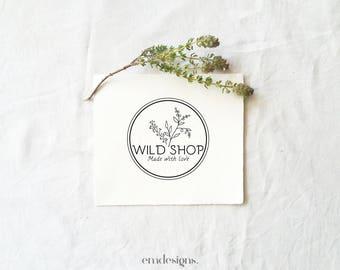 Logo design, Premade logo, Boho logo, Logo blog, Logo, Botanic logo, Leaf logo, Floral logo, Natural logo, Herbal logo, Branding kit, Logo