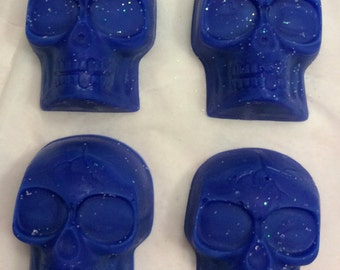 Skull Wax Melts set of 12