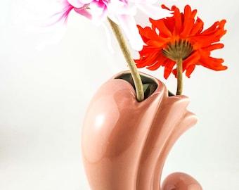 Cornucopia Vintage Flower Vase
