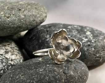Flower Statement Ring