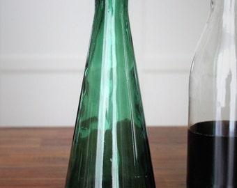 Vintage inspiration demijohn glass carafe