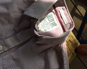 RUEHL Unisex Striped Dress Shirt - Extra Small - Just Twenty Dollars- small
