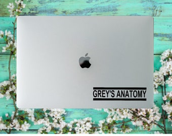 Grey's Anatomy, DECAL, for YETI, RTIC, laptops, notebooks, phone cases, etc....