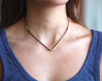 Claspless Collar Necklace