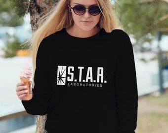 Star Laboratories Sweatshirt 100% cotton unisex hoody good gift idea