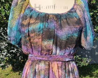 Disco Diva Rainbow Dress