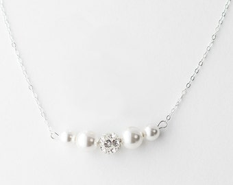 Set of 5 Bridesmaid Necklace Set of 5