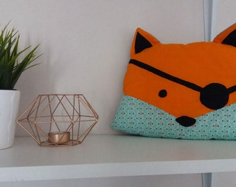 SALE pillow Fox Robin-20% with coupon code: SOLDESSUMMER20
