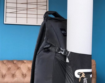 Ignotas Apparel- Yoga Mat Backpack, Mat Bag~ Carry Your Yoga Mat And Gear In One Bag!