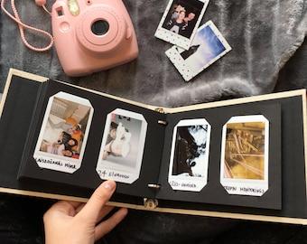 Instax Mini Album. Instax Wedding Guest Book. Instax Photo Album for 60 Photos. For Fujifilm Instax Mini 9, 8, 7s, 25, 50s, 70, Neo 90.