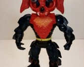 1984 Masters of the Universe The Evil Horde Mantenna Spy Pop Out Eyes Mattel Collectable Vintage Toy Action Figure from He man