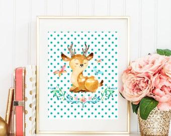 Animal Nursery Art, Baby Animal Nursery Art, Cute Nursery Decor, Nursery Animal Art, Nursery Print, Kids Room Decor, Kids Wall Art