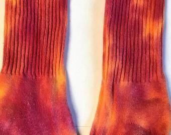 Nike Sunset (Red/Orange) Tie Dye Socks