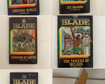Blade by Jeffrey Lord Pick One Science Fiction Fantasy Book. Numbers 8, 9, 10. 13, and/or 15