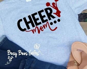 Cheer Mom Shirt * Cheerleader Mom * Cheer Shirt * Sports Mom Shirt * Sports Mom * Cheerleader Gift * Cheer Mom * Adult Short Sleeve Shirt