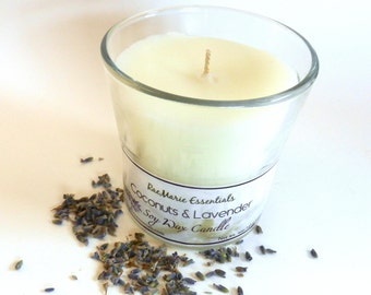 Coconuts & Lavender Fragrance Soy Candle 5 ounces