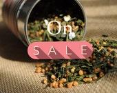 Green Tea - Genmaicha - Japanese Popcorn Tea Premium Level NET 1.1 Oz / 30 grams