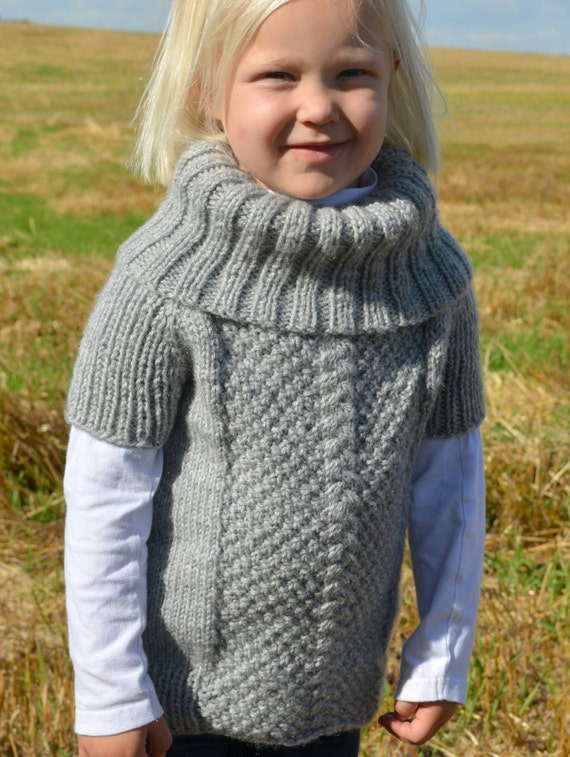 Kids Knitted Sweater Patterns 6
