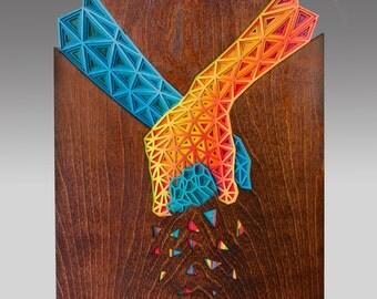 Unity -Subtractive Wood Sculpture