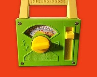 Vintage Fisher Price Toyland Music Box