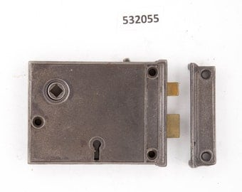 Antique Steel Rim Lock 532055
