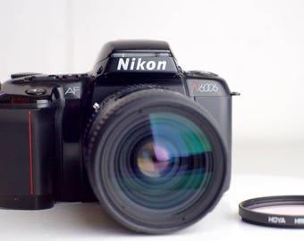 Nikon N6006 (F-601) 35mm Film SLR Camera with Nikon AF Nikkor 28-85mm F/3.5-4.5 Zoom Lens