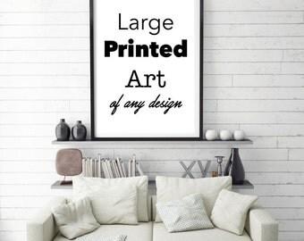 Large Wall Art, Large Print, Large Art Poster, Large Physical Print