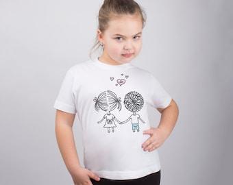 Love Shirt for Kids Love Shirt Kids Tshirt Children Shirt Kids Graphic Tee Baby Girls Clothing Childrens Clothing Valentines Day PA1081