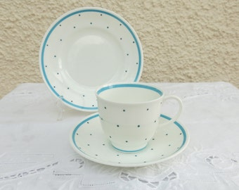 Vintage Susie Cooper Tea Set for Four - 15 Pieces