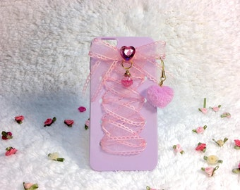 Magical Sailor Moon Chibiusa Inspired Laced Ribbon iPhone 6 Plus Case