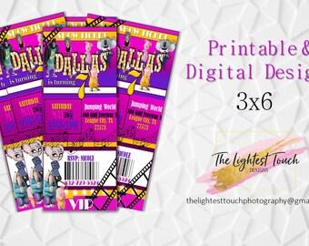 Sing Movie Party, Sing The Movie, Sing Movie, Sing Birthday Party, Girl Invitations, Boy Invitations, Digital Invites, Printable, Invitation