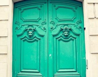 SALE Paris photography, canvas art, paris prints, Paris wall art, Paris canvas, canvas wall art Paris print Paris door art Parisian door art