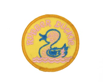 Vintage Rubber Duckie Patch