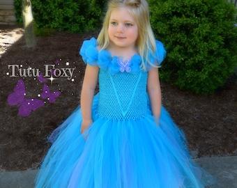 Cinderella Dress, Cinderella Tutu Dress, Cinderella Birthday, Cinderella Tutu, Cinderella Costume, 2015 Cinderella Dress