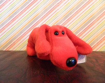"Ty Red Dog Beanie Baby ""Rover"" (B)"