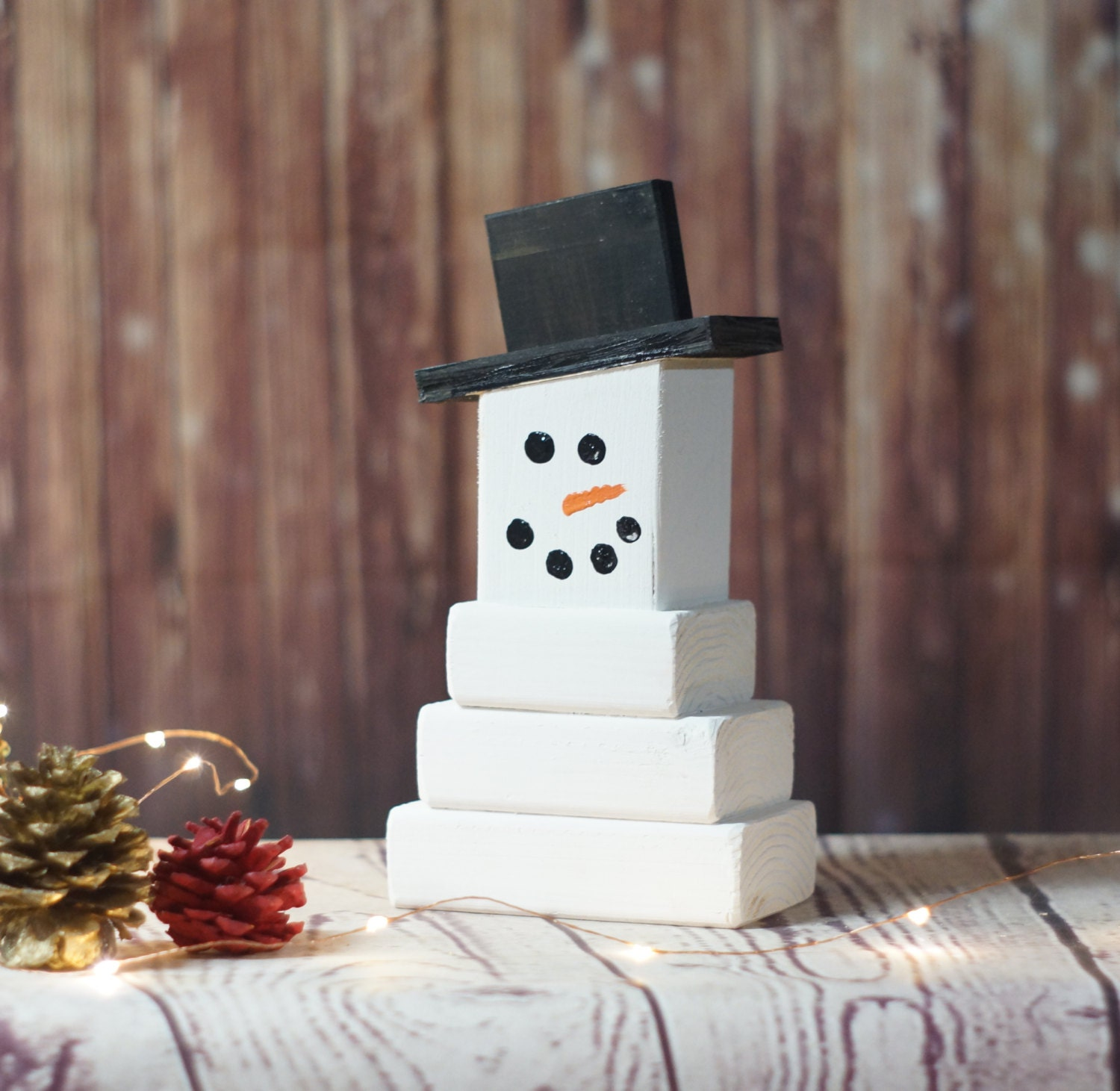 Wooden snowman christmas mantle decorations rustic christmas for Rustic snowman decor