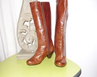 WONDERS boots leather size 36 EN