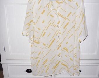 LILI blouse size 46 en - 1980s