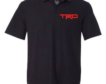 TRD TOYOTA Graphic Polo T-Shirt  ***Free Shipping***