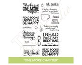 "TRS ""One More Chapter"" Clear Stamp set"
