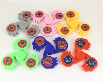 Fidget Hand Spinner Stress Relief Bar Tri-Spinner Toy finger spinner Children Adult Office game desk top boredom buster saw Blade spinning