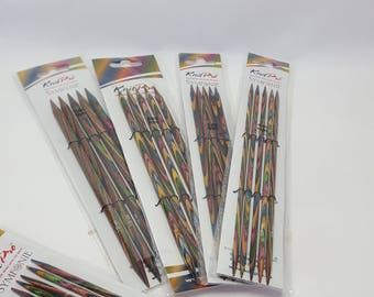 KnitPro Symfonie Dpn's, double pointed needles, various sizes, 3.5-8mm, 20cm