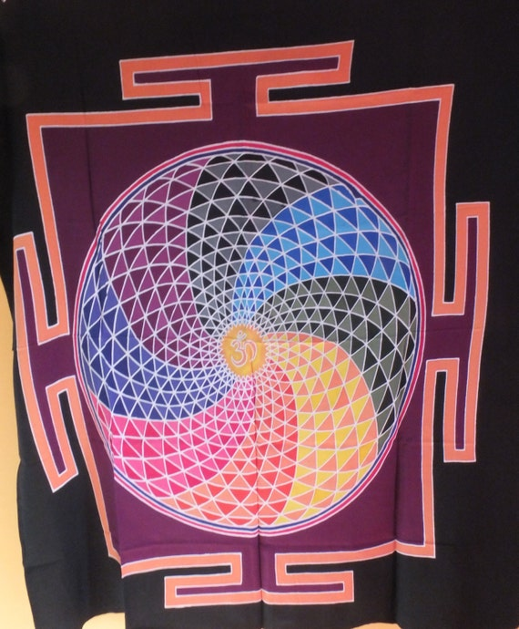 Chakra, Om Meditation Flags, Bright Colourful Buddhist, Pray Flags, Yoga, Meditate Reiki Spirituality