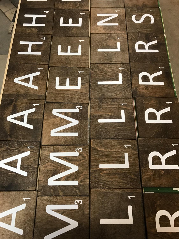 Scrabble Tiles Large Scrabble Tiles 5x5 Amp 7x7 Jumbo