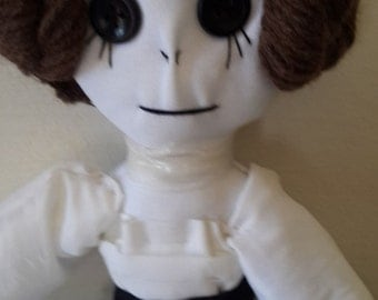 Princess Lea, hand made rag doll, collectors item, Star Wars