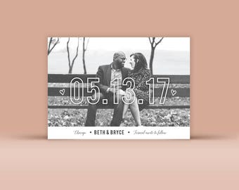 Save the Date No. 5 - Wedding Announcement